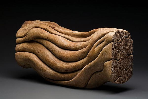 Sculpture by Carole Murphy - In the Flow
