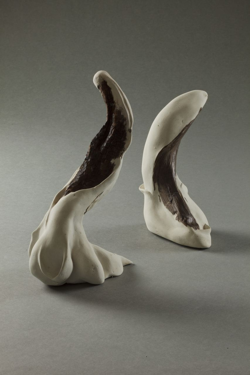 Sculpture by Carole Murphy - Bending to the Dance