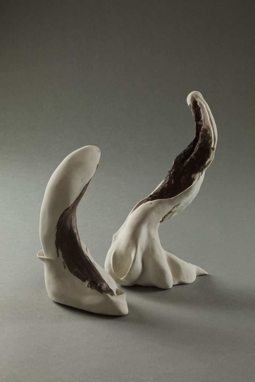 Sculpture by Carole Murphy - Bending to the Dance View 2